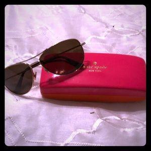 Kate spare polarized aviator sunglasses
